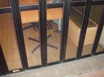 【施工後】施設のガラス破損で見積もり提出の後交換