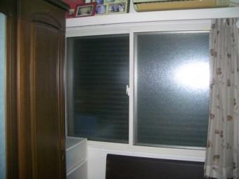 【施工後】内窓の設置による冷暖房効率アップと結露対策