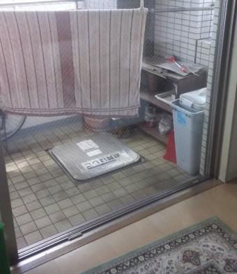 【施工後】静岡県浜松市東区のマンションにて熱によるヒビ割れ