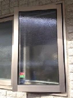 【施工後】浜松市天竜区の戸建て住宅にて破損したガラスの交換
