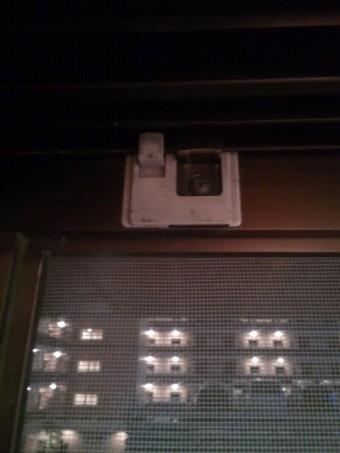 【施工前】静岡県湖西市のマンションにて網戸の開閉動作に不具合