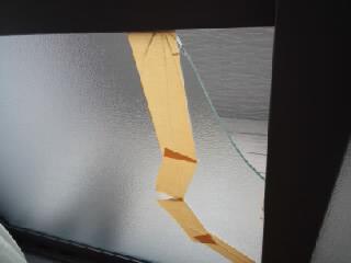 【施工前】静岡県磐田市の賃貸アパートで泥棒によるこじ破り被害