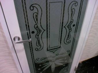 【施工後】浜松市北区の店舗ビルにてお客様がぶつかりガラス破損