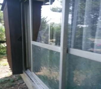【施工後】静岡県浜松市天竜区の戸建てにて泥棒被害発生