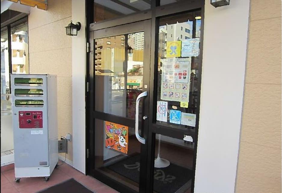 【施工後】静岡県浜松市天竜区の店舗にて不注意によるガラス割れ