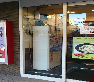 【施工後】静岡県磐田市の店舗にてイタズラ被害によるガラス破損